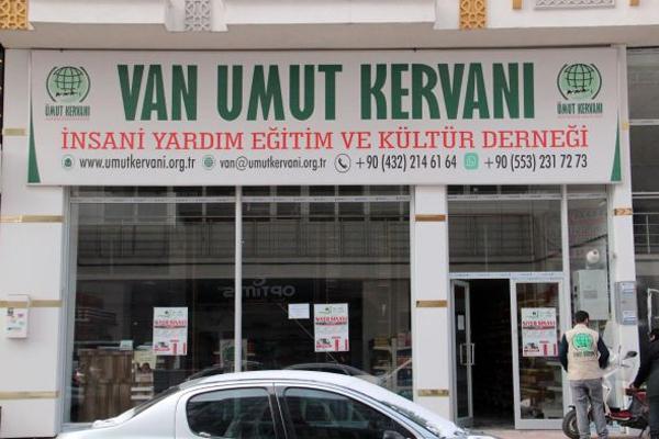 Van Umut Kervanı yıllık faaliyet raporunu açıkladı