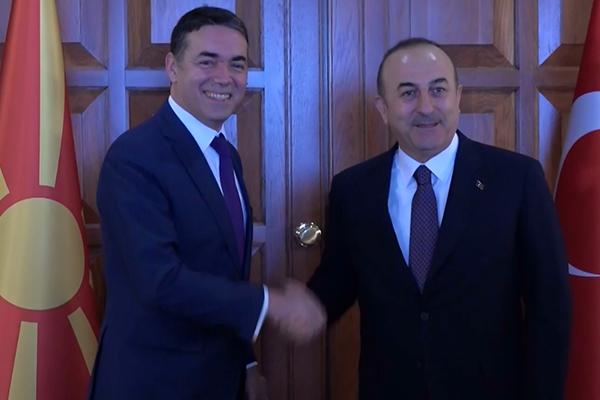 Çavuşoğlu, Dimitrov ile görüştü