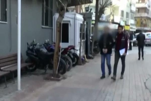 İzmir`de suç örgütü operasyonu