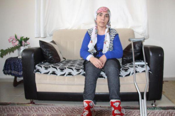 Felçli kadın iki yıldır yardım bekliyor