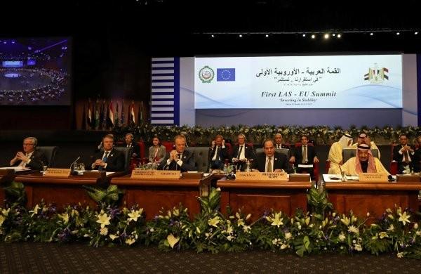 İdamların gölgesinde AB liderleri Mısır'da