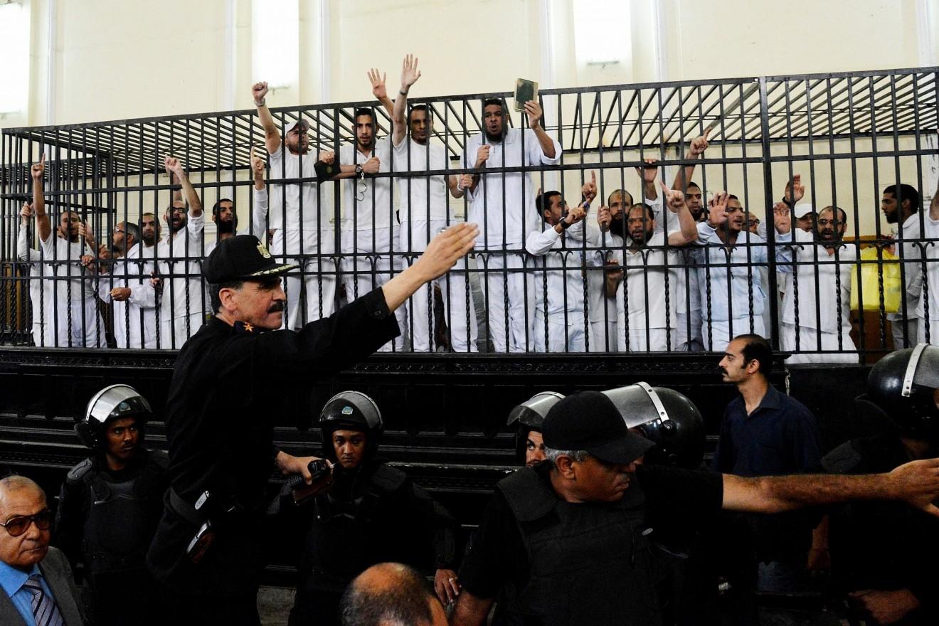 mısırda idamı bekleyen mahkumlar