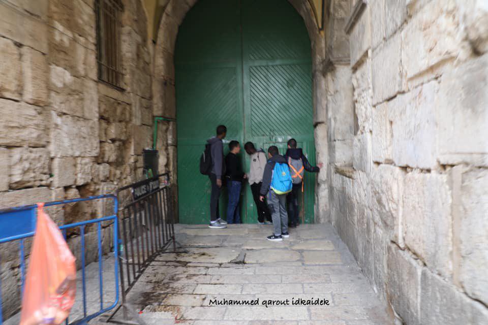 MESCİD-İ AKSA'DA  SİYONİST BARBARLIK