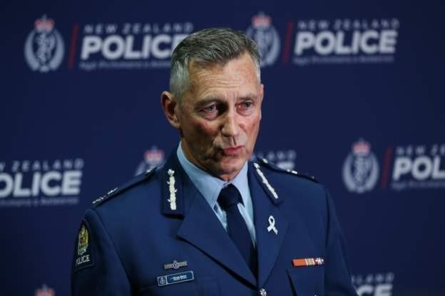 Yeni Zelanda Emniyet Genel Müdürü Mike Bush