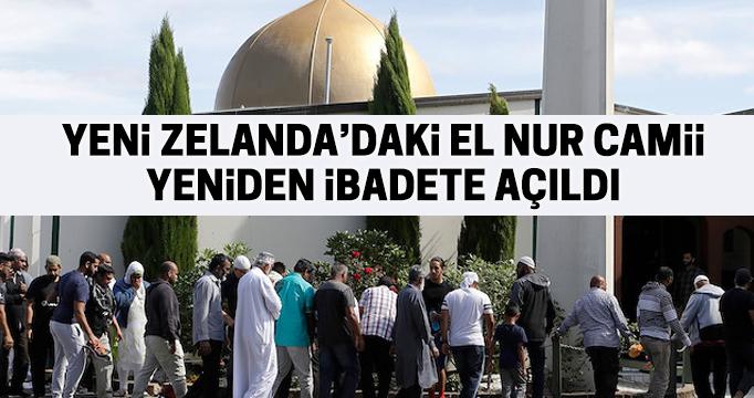 Terör saldırısına uğrayan El Nur Cami yeniden açıldı