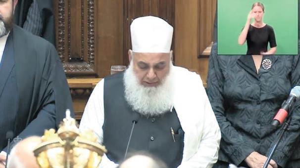 yeni zelanda meclisinde şehidler için kur'an okundu