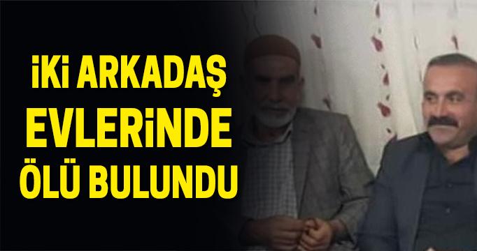 Şanlıurfa'da iki arkadaş evlerinde ölü bulundu