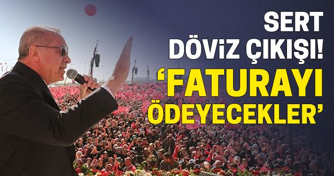 Erdoğan'dan dövizde spekülasyon yapanlara sert sözler: Bedelini ağır ödersiniz!