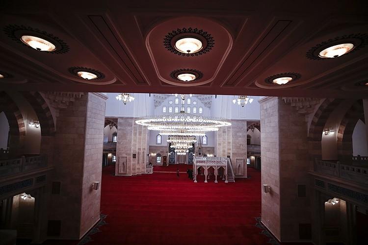 Başkentin üçüncü büyük camisinin resmi açılışı bugün yapılacak