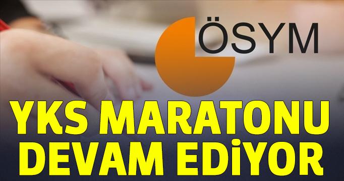 YKS maratonu devam ediyor