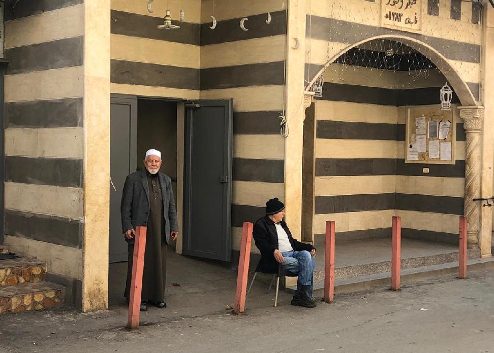 Akka bölgesinin Amka köyünden Hacı Yusuf Mahmud Uveyd (79)