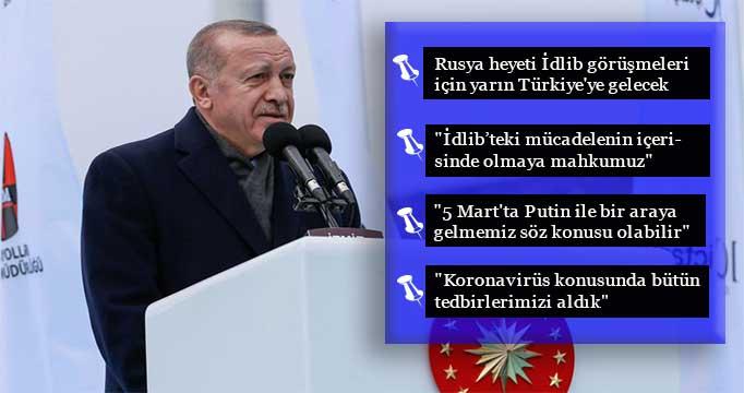 Cumhurbaşkanı Erdoğan'dan gündeme dair değerlendirmeler