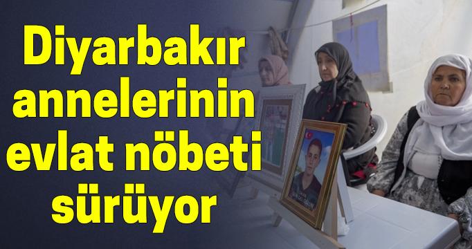 Diyarbakır annelerinin evlat nöbeti 209. gününde sürüyor