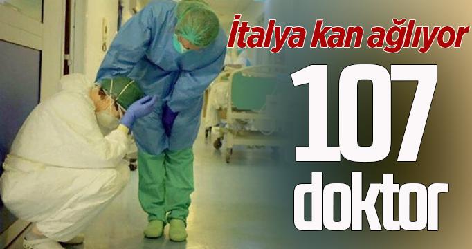 İtalya'da 107 doktor