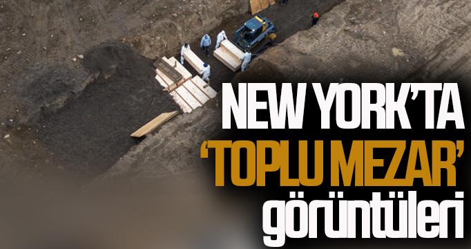 """New York'ta """"toplu mezar"""" görüntüleri"""