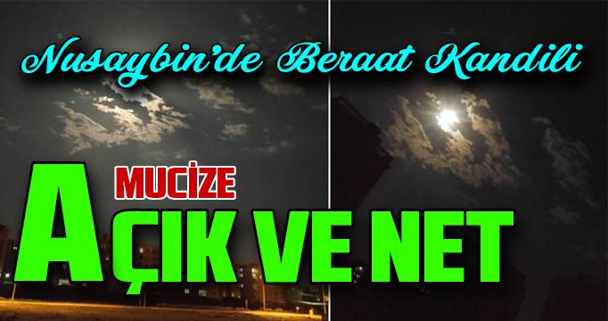 Nusaybin'de açık ve net Mucize