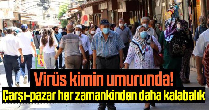 Görüntüler Gaziantep'ten, koronavirüs kimin umurunda
