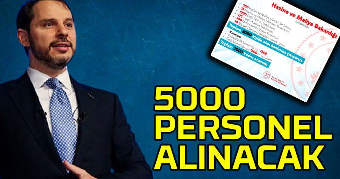 5000 kişiye iş imkanı!