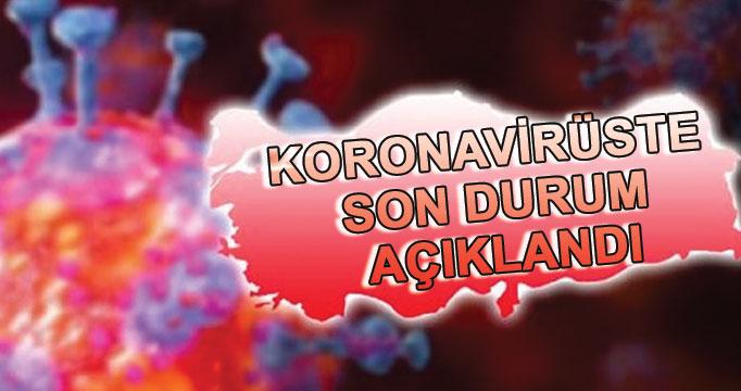 Koronavirüste son durum açıklandı