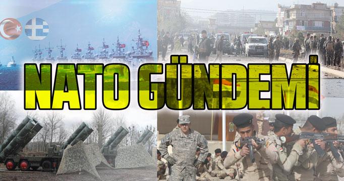 NATO Savunma Bakanları Doğu Akdeniz, Irak ve Afganistan'ı görüştü!