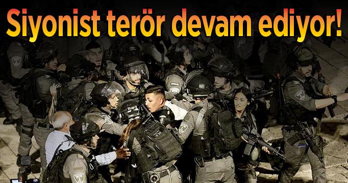 Siyonist terör devam ediyor!
