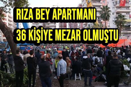 İzmir depreminde yıkılan Rıza Bey Apartmanı iddianamesi hazırlandı