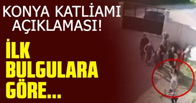 Adalet Bakanı Gül'den Konya katliamı açıklaması!