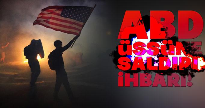 ABD üssü saldırı ihbarı nedeniyle  kapatıldı!