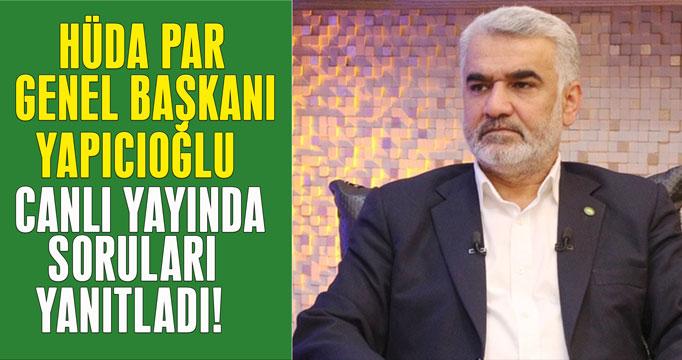 Zekeriya Yapıcıoğlu Habertürk TV'de soruları yanıtladı!