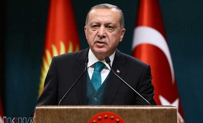 """Erdoğan: """"Türkiye'nin yükselişi kimsenin önünde duramayacağı bir ivmeye ulaşmıştır"""""""