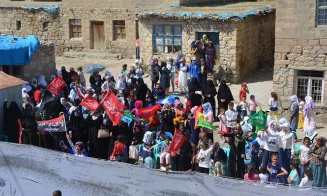 Tuzlagözü köyünde Kutlu Doğum etkinliği