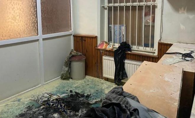 Kadıköy'de cami yakma girişimi: Zanlı aranıyor!