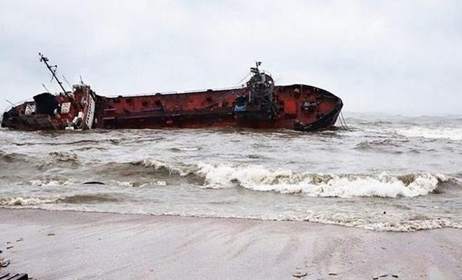 Karadeniz'de tanker kazası