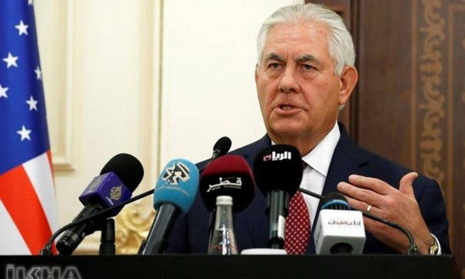 The US had never given heavy arms to YPG, nothing to take back: Tillerson