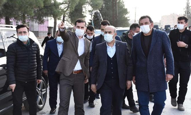 Mardin Valisi Demirtaş, Nusaybin'de incelemelerde bulundu