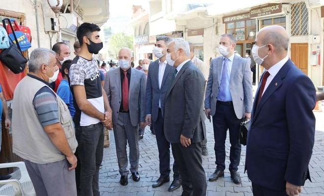 İçişleri Bakan Yardımcısı Ersoy, Mardin'de incelemelerde bulundu