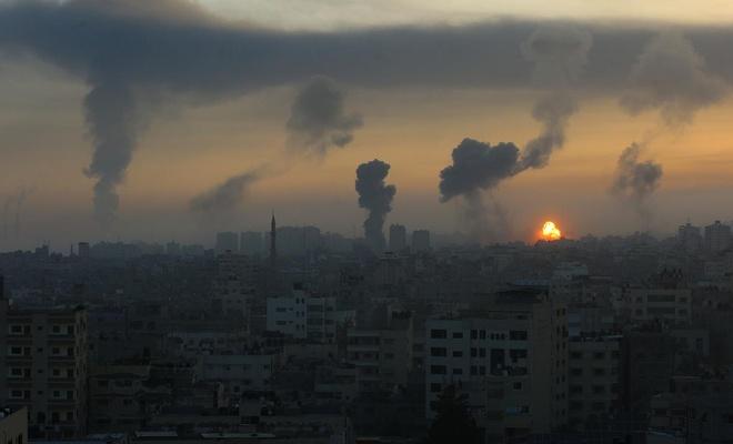 İşgal rejimi yine Gazze'ye saldırdı