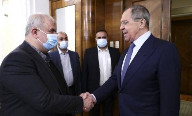 Rusya Dışişleri Bakanı Lavrov Lübnan Hizbullah'ı heyetiyle görüştü