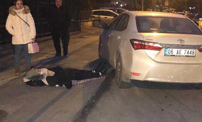 Sınava yetişmeye çalışan öğrenci otomobilin altında kaldı