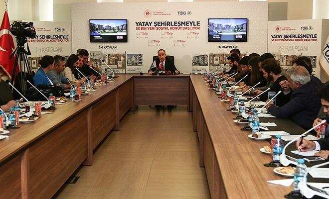 TOKİ Başkanı Bulut'tan 50 bin konutla ilgili açıklamalar