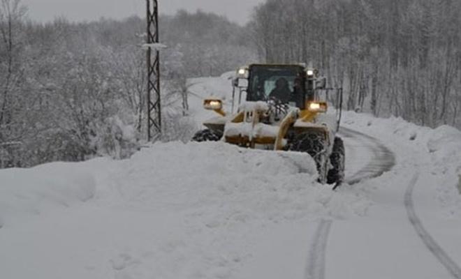 156 köy yolu ulaşıma açıldı
