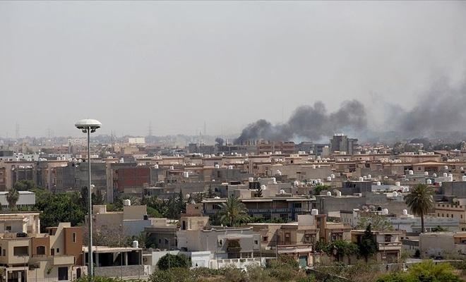 Libya'da korkutan gelişme! Hafter füzeyle vurdu