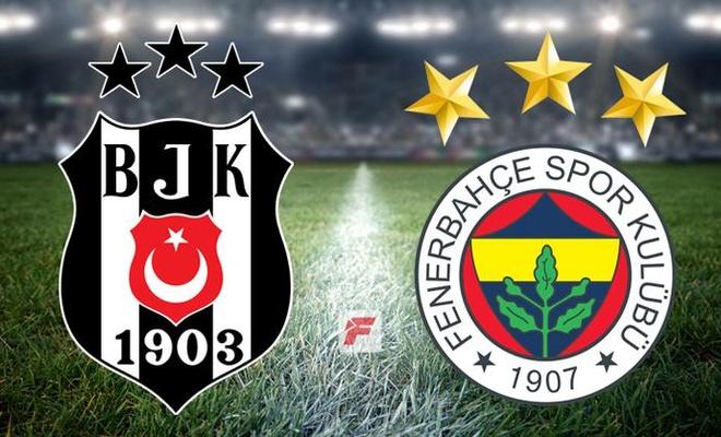 Beşiktaş-Fenerbahçe maçında skor!