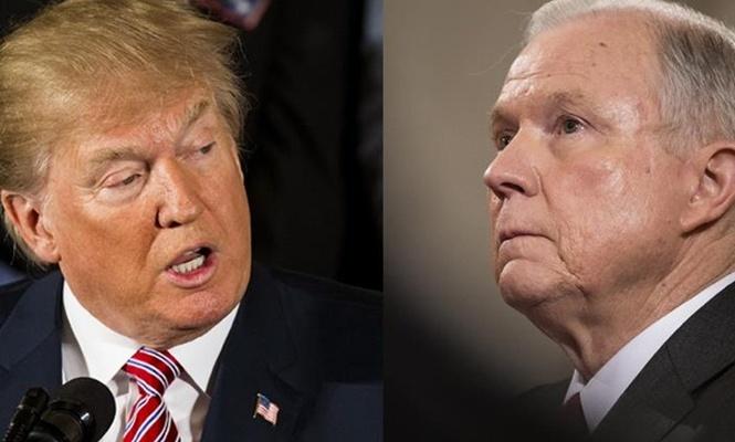 Trump`tan Sessions`a tepki