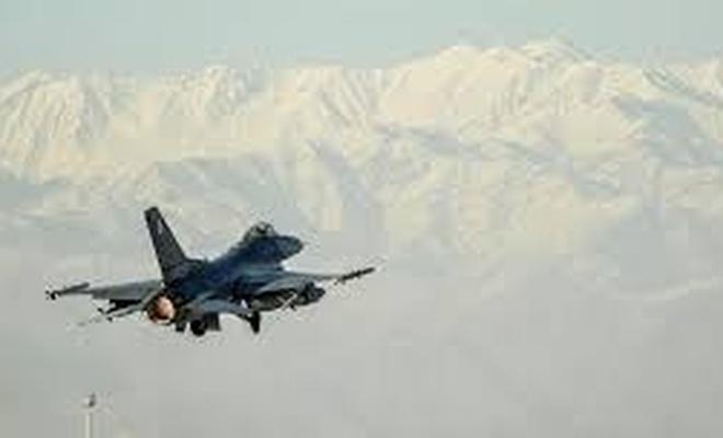 Taliban'a hava saldırısı