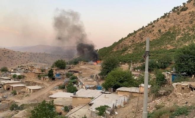 Vergi(Haraç) almaya çıkan PKK, Süleymaniye'de köylülerle çatıştı!