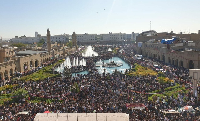 Erbil'de 'Mevlid-i Nebi' etkinlikleri