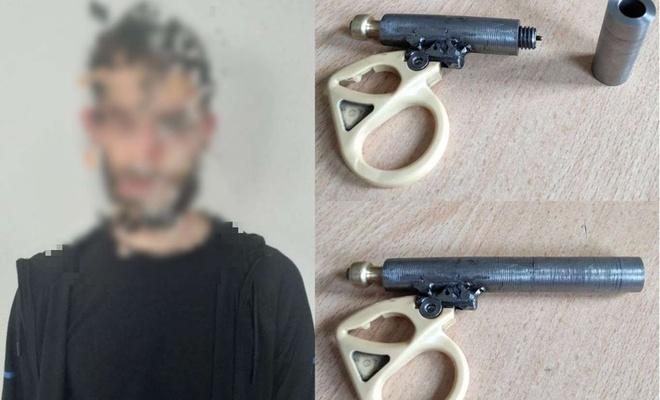 Üzerinde suikast silahı ele geçirilen şüpheli gözaltına alındı