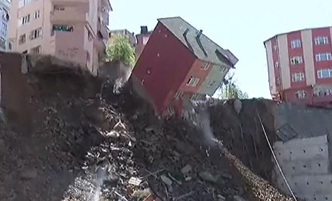 Kağıthane Belediye Başkanı'ndan çöken binayla ilgili açıklama
