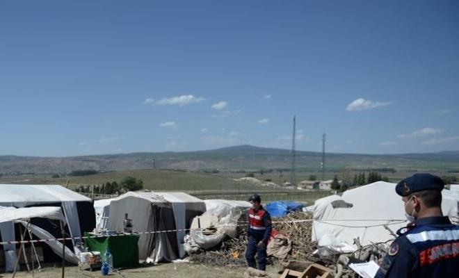 Eskişehir'de tarım işçisi bir aile karantinaya alındı